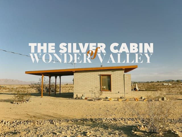 THE SILVER CABIN of WONDER VALLEY - Twentynine Palms - Sommerhus/hytte