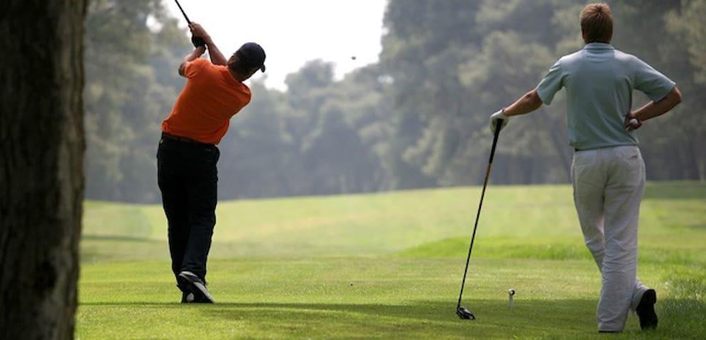 Nombreux golfs à proximité
