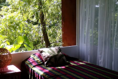 Eco Mountain-treetop beach Cabin. Natural Oasis - La Libertad - Hytte
