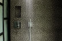 Bathroom A - hansgrohe axor rain shower system