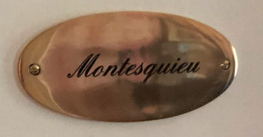 Chambre Montesquieu - Domaine du Pacha