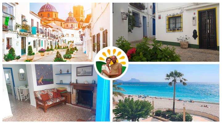 Casa la Rana 🐸 Charming Townhouse near the beach