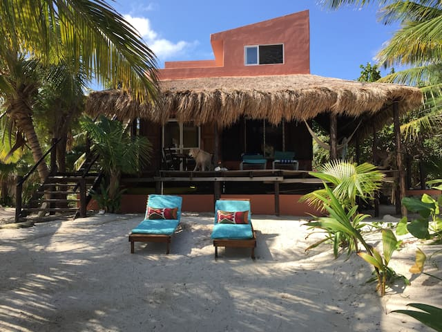 Mahahual SWEET Dragonfly beach house!