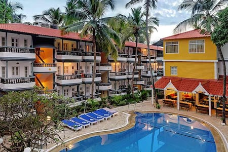 Baga Apartment Resort near Tito's Club - Baga - Servicelägenhet