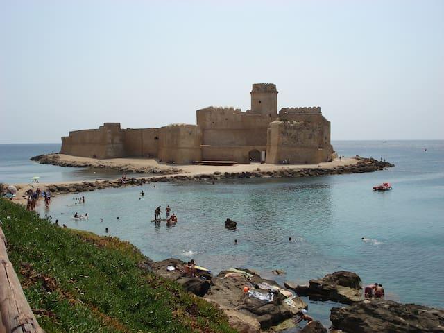 Affitto vacanze a Le Castella (KR) - Le Castella - Huis