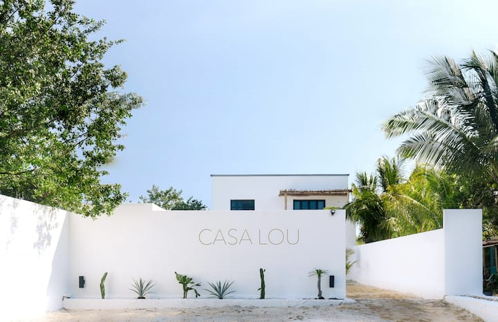 Casa Lou Holbox 6/8 pers
