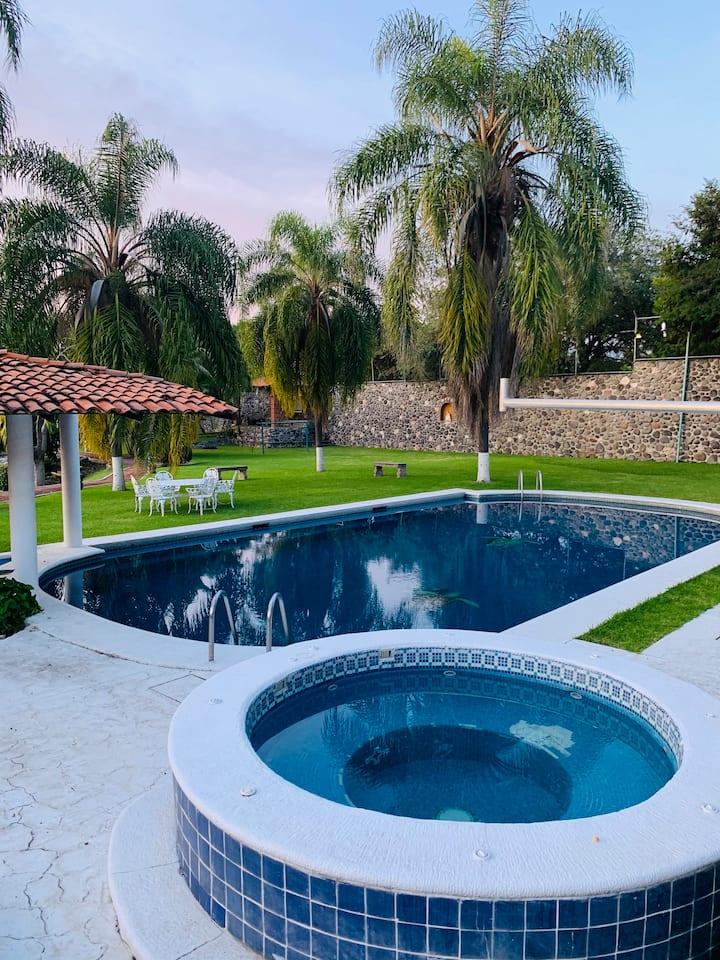 Quinta Alejandra en Oaxtepec, Morelos