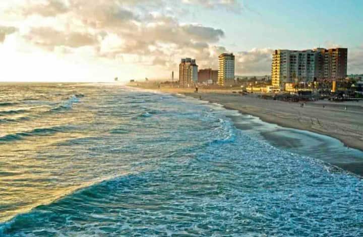 Romantic ❤️ Rosarito beachfront