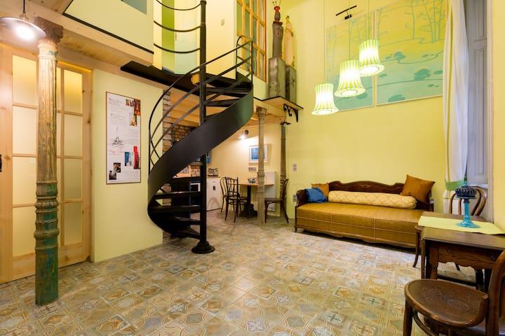 Artistic and Unique Apartment in the Centre