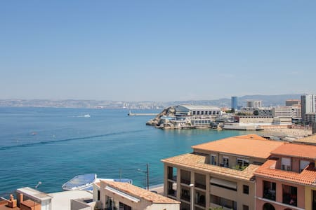 Rooftop apartment sea view Marseille - Marseille - Huoneisto