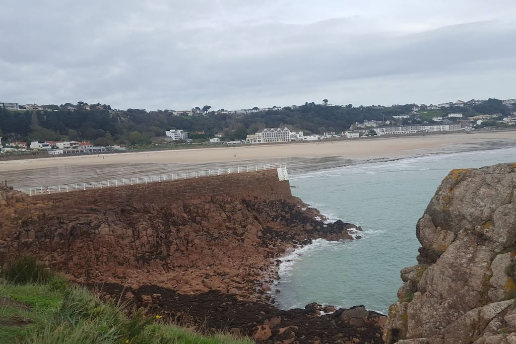 View over St Brelades bay