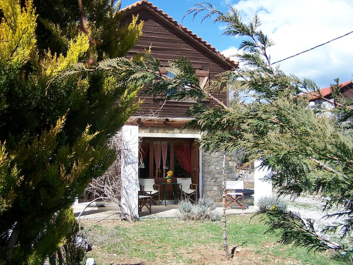 IDEAL CHALET FOR COUPLES-LIVADI-ARACHOVA
