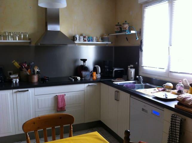 cuisine aménagée tout confort