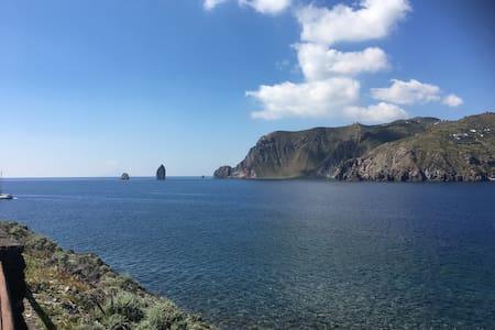Appartamento Isola di Vulcano - 利帕里 - 度假屋
