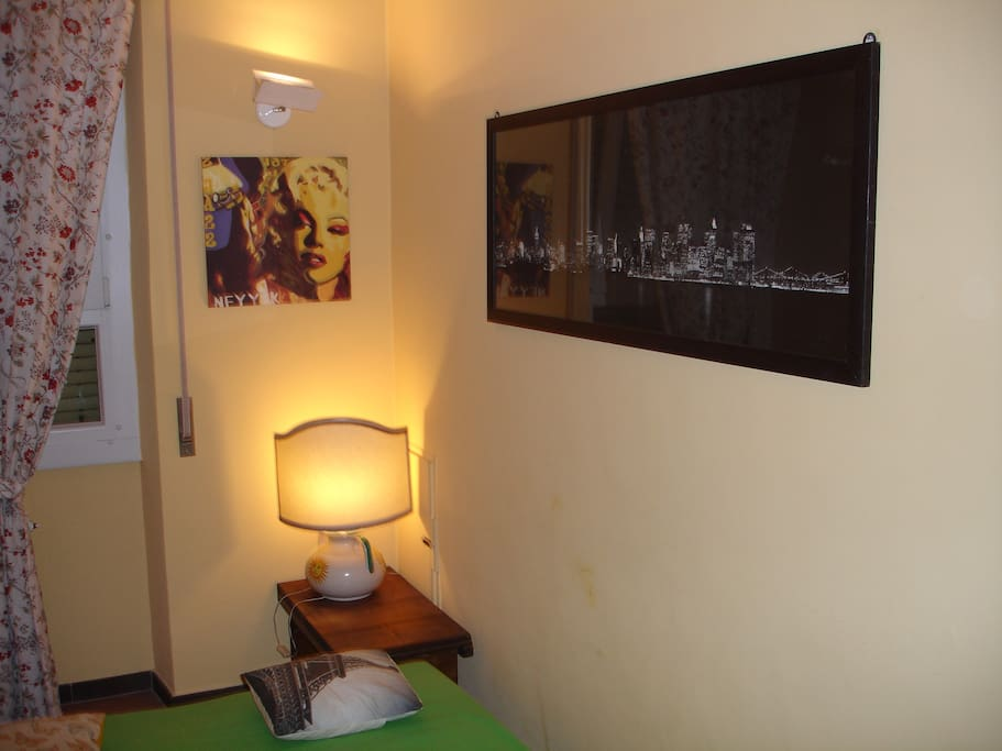 intimate room