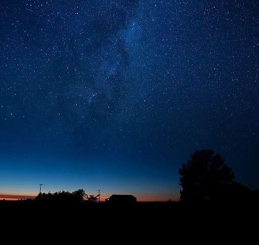 Enjoy starry nights