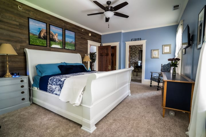 Historic St Johns Home-Blue Ram Room (King)