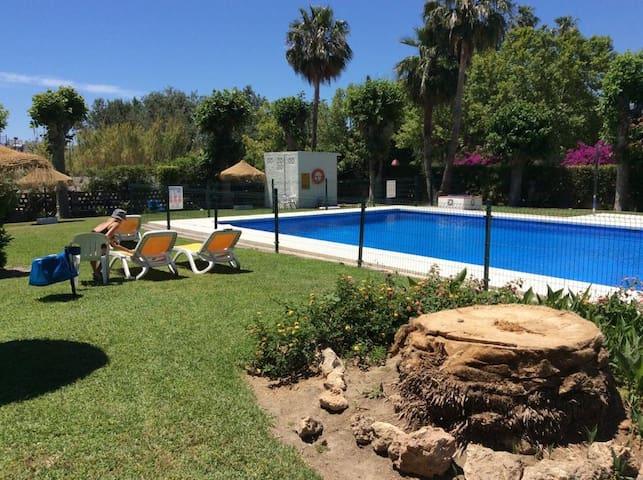 Estudio vacaciones en los álamos
