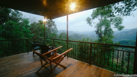 TREE HOUSE 2 bedrooms with attached bathrooms