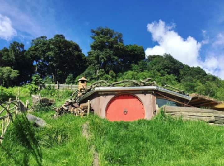 Hobbit-Style House in the Mountains of Antigua