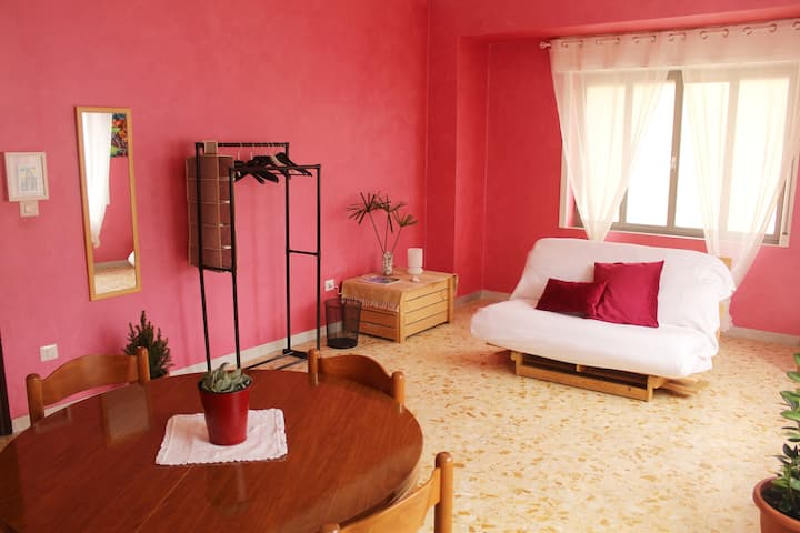 Mediterranean Apartment - Watermelon Room
