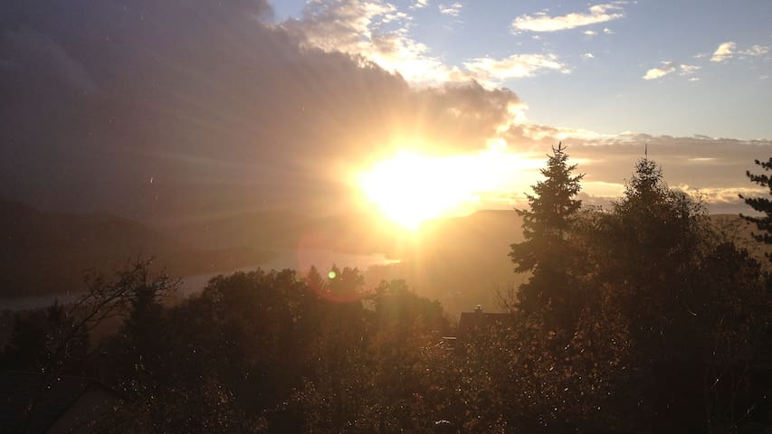 An average sunset ...