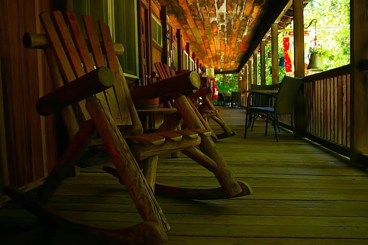 Coffee Creek Guest Ranch in the Trinity Alps - Trinity Center - Cabane