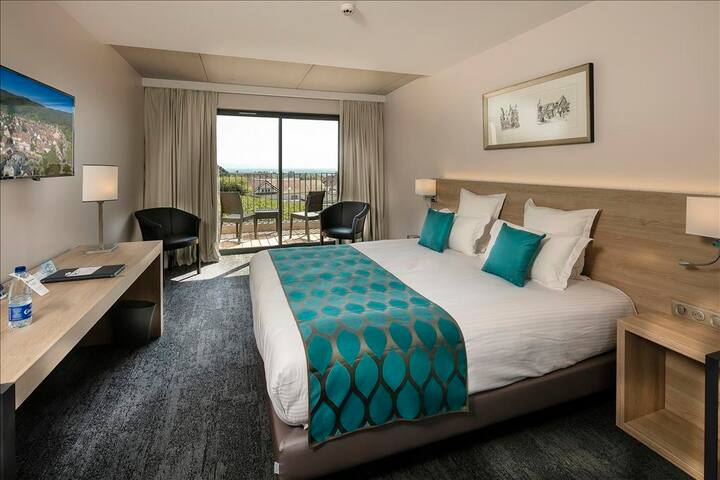 Chambre Twin - Deluxe avec terrasse