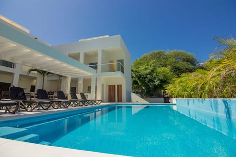Rooftop patio  & plunge pool - Surfer's Paradise!