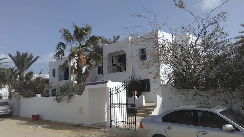 residence kenza+ zone touristique djerba midoun