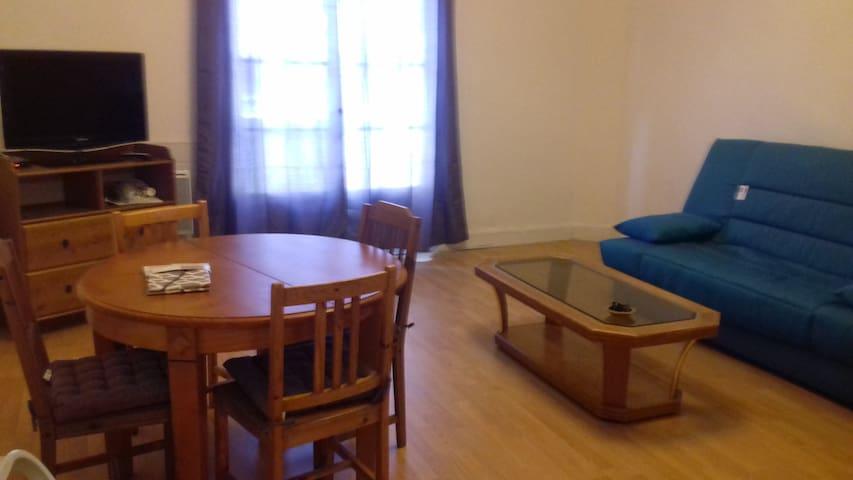Appartement meublé F1 de 37M²