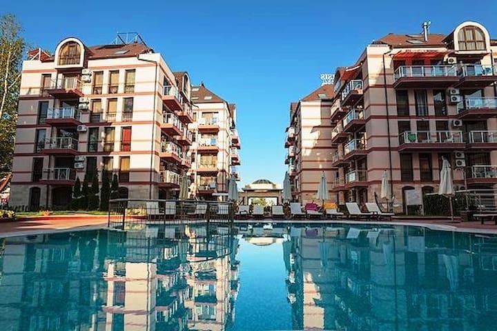 Luksusowy apartment, Tarsis 2A40 - Sunny Beach - Apartamento
