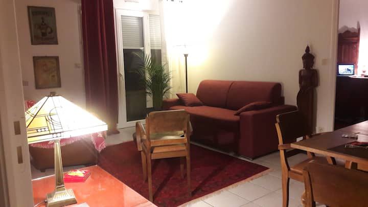 PARIS CDG, Appartement F2 45m2 tout confort