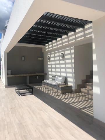 Terraza/ rooftop deck