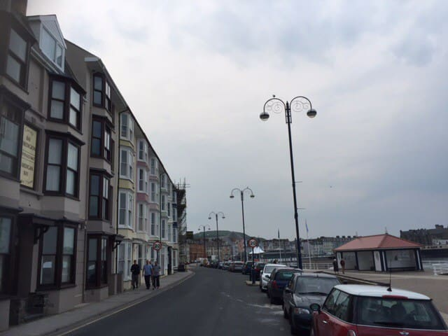 Studio Flat - Rear View - Sea Front-Celtic Bay B&B - Aberystwyth - Lejlighed