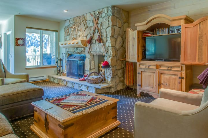 Lovely riverfront home w/ mountain views, private sauna, & hot tub - near lifts!