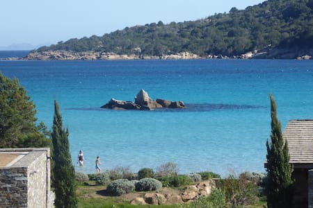 Villa + Piscine à 100m de la plage de Santa Giulia - Porto-Vecchio