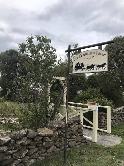 The Coachmans Corner - Circa 1845