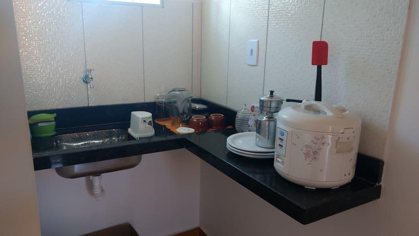 Apartamento em Alto Paraíso - Alto Paraíso de Goiás - Appartement
