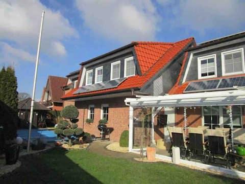Moderne lejlighed med to soveværelser i omgivelserne i Hannover!