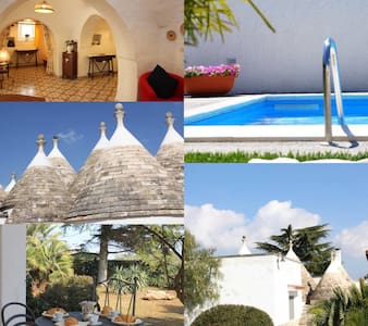 Trullo Iris - trullo with pool - Martina Franca