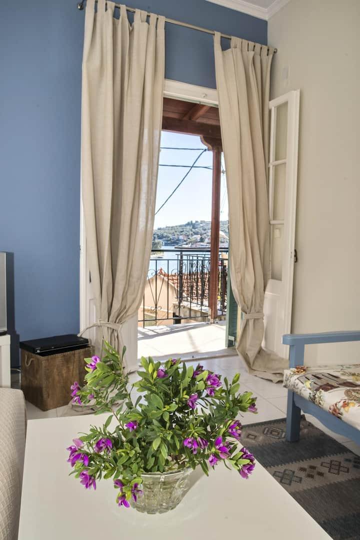 Gaios, stunning Sea View Paola's House