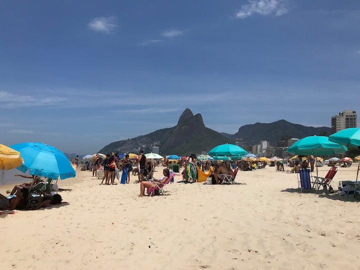 Ano Novo na Praia de Copacabana! Posto 6