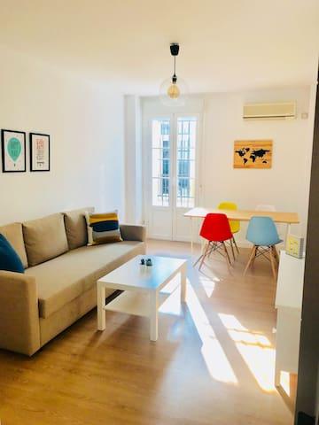 Luminoso y precioso apartamento en pleno centro