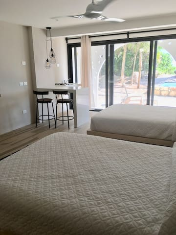 Copal 1. Beach/Pool front Room