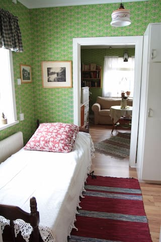 Single bed downstairs