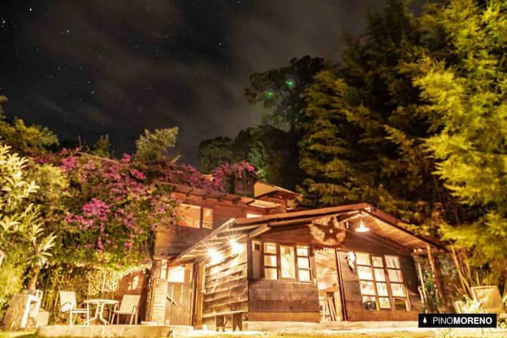 Cabaña con jacuzzi en Montealto