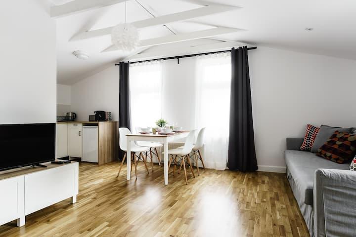 Apartament Stockholm 1 z dostępem do ogrodu