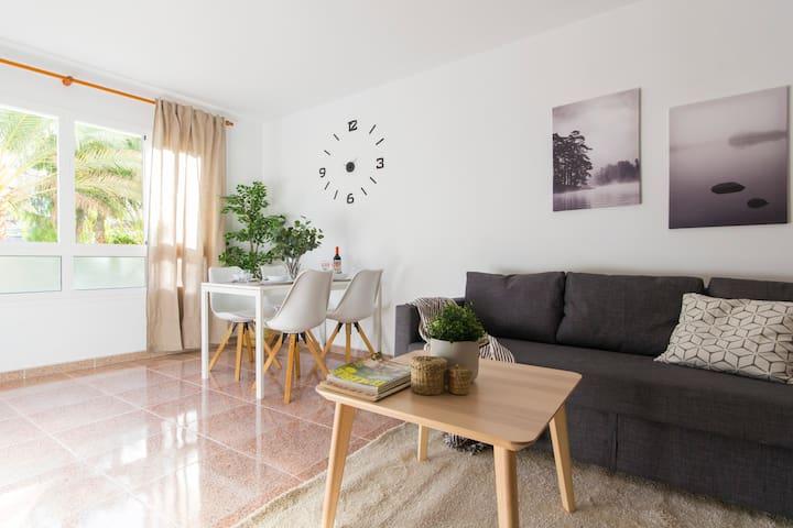 Apartamento acogedor y recién reformado.