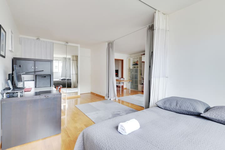 Pleasant F2 closed to La Défense - Courbevoie - Apartamento